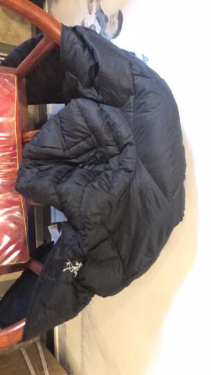 Arcteryx始祖鸟男款户外运动轻量修身白鹅绒保暖羽绒服夹克Cerium LT JACKET 连帽羽绒服夹克CeriumSV850灰鹅绒深灰 S 晒单图