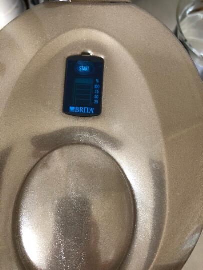 碧然德(BRITA)过滤净水器 家用滤水壶 净水壶 金典星光系列 Marella xl 3.5L(金色) 晒单图