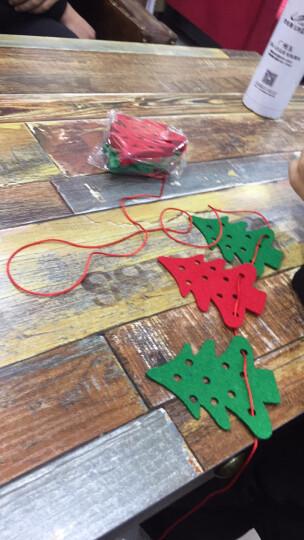 居梦坞 圣诞节横幅 毛毡布挂旗拉花 圣诞节场景装饰布置品毛毡布圣诞树装饰挂饰拉旗吊旗 圣诞吊旗28 晒单图