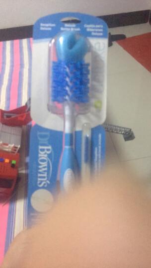 布朗博士(DrBrown's)奶瓶奶嘴吸管杯刷 多功能清洁刷BL700(绿色) 晒单图
