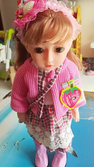 安娜公主 会说话的娃娃对话的芭比娃娃智能娃娃洋娃娃充电版送遥控女孩玩具 充电版 关节体16号娃娃 晒单图