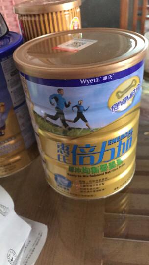 港版惠氏(Wyeth) 倍力加成人奶粉  900g 2罐装 晒单图