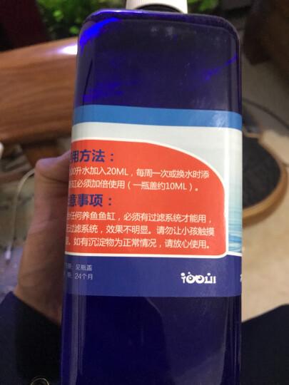 格志(Grozziie)硝化细菌鱼缸水族箱水质净化剂鱼缸药水净水液净水剂消毒剂 格志硝化菌500ml/瓶 晒单图