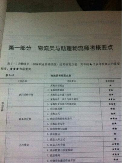 国家职业技能鉴定指南:物流员助理物流师(第2版修订) 晒单图