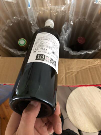 法国进口红酒 卡梅罗西波尔多干红葡萄酒 750ml*6瓶 整箱装(送1醒酒器2酒杯) 晒单图