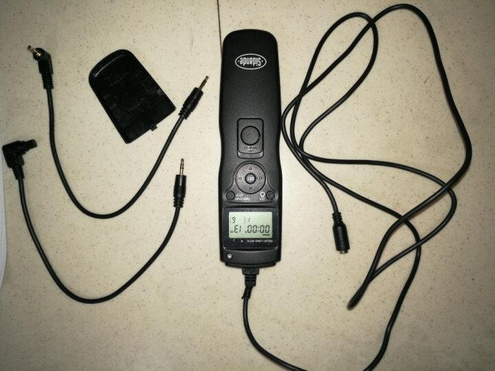 斯丹德(sidande) RST-7001定时快门线 佳能相机550D 600D 650D 700D 60D 70D K7 G12宾得三星通用B门延时拍 晒单图