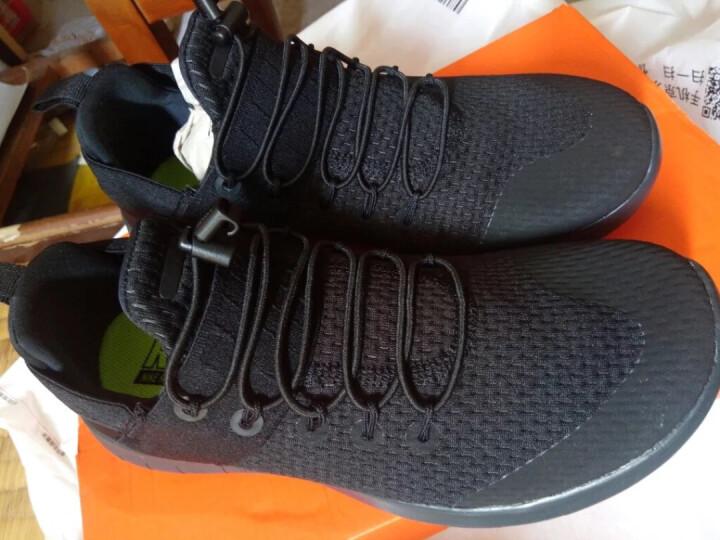 耐克NIKE 女子 跑步鞋 FREE RN FLYKNIT 2017 运动鞋  880844-003黑色38码 晒单图