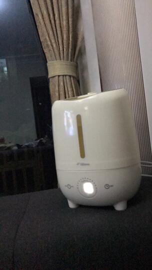 德尔玛(Deerma)加湿器 3L容量 触控感温 家用卧室静音迷你办公室香薰加湿 DEM-F420S(金色) 晒单图