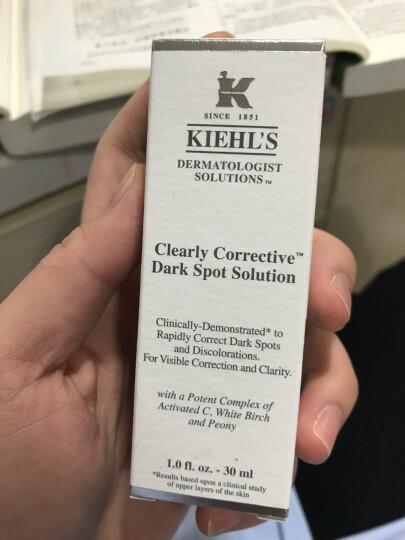 科颜氏(Kiehl's)集焕白均衡亮肤淡斑精华液30ml(补水保湿 提拉紧致 提亮肤色 精华液) 晒单图