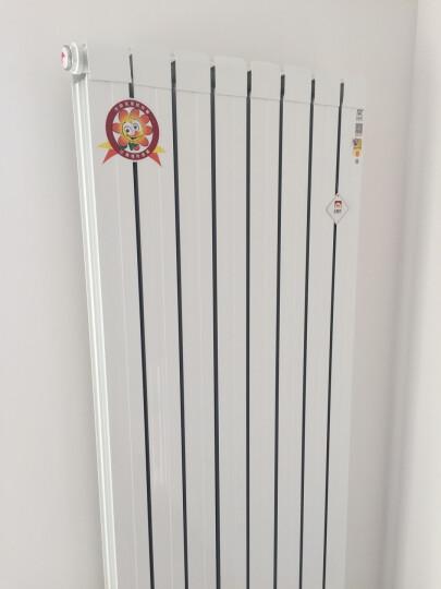 太阳花暖气片家用水暖铜铝复合自采暖壁挂式集中卧室客厅供暖卫生间小背篓60*75【一片价格,三片起拍】 1.8米高单片价格 晒单图