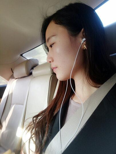 【闪购进行中】【买一送一同款】奥克罗 入耳式线控手机金属耳机 通用安卓苹果华为oppo小米vivo等 银白色 晒单图