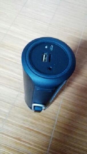 minana BTM90DS 音箱 音响 手机蓝牙音箱 蓝牙音箱 无线音箱 低音炮户外便携 黑色 晒单图