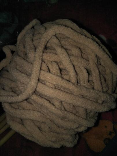 景欣怡 围巾线 冰条线编织围巾线 钩拖鞋坐垫牛奶棉冰条粗毛线 BT-30 晒单图