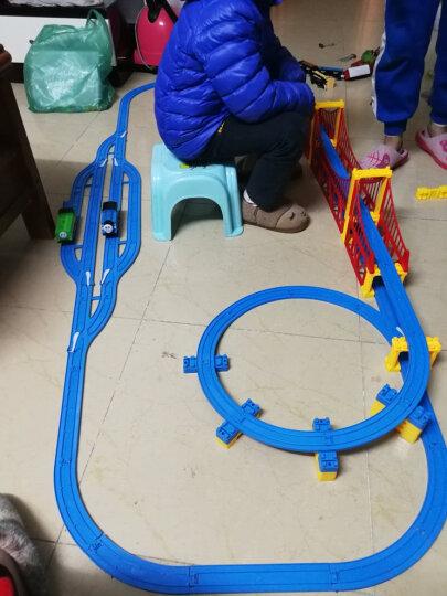 FenFa越诚 托马斯小火车玩具 大型音乐电动轨道车套装 81件礼盒套-1车头2车厢 晒单图