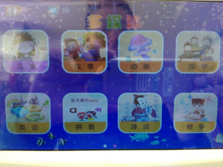 蓝宝贝(LanBaoBei) 早教机wifi宝宝婴幼儿童故事机学习机0-1-3-6岁玩具 9英寸安卓版内置16G蓝色【可搜索下载】 晒单图