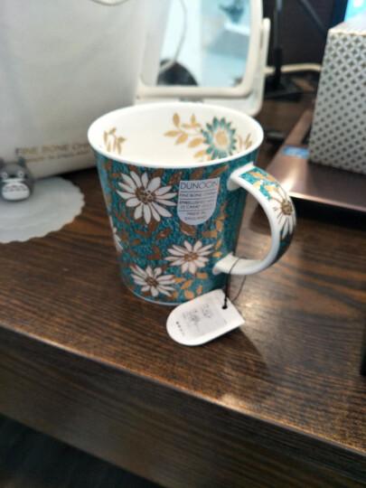 丹侬(dunoon) 英国进口杯子 咖啡杯马克杯陶瓷杯情侣杯杯子创意骨瓷杯 雅园系列 粉红 晒单图