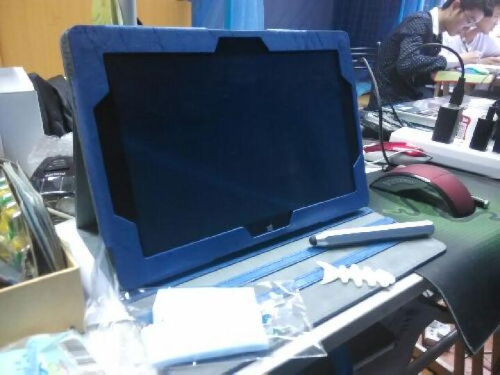 喜门红 保护套皮套保护壳适用于海尔 W1048S 10.1英寸平板电脑 印花系列   蓝色 晒单图