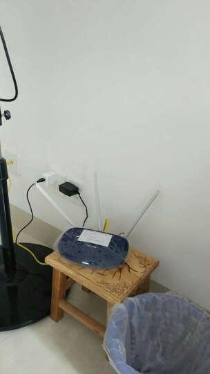 TP-LINK 家用智能安全无线路由器450M真3天线穿墙王TL-WR886N高速大功率wifi 【宝蓝色】 晒单图