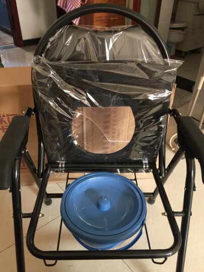 长寿泉 坐便椅老人折叠坐便器孕妇残疾人坐厕椅坐便凳老年人座便椅 晒单图