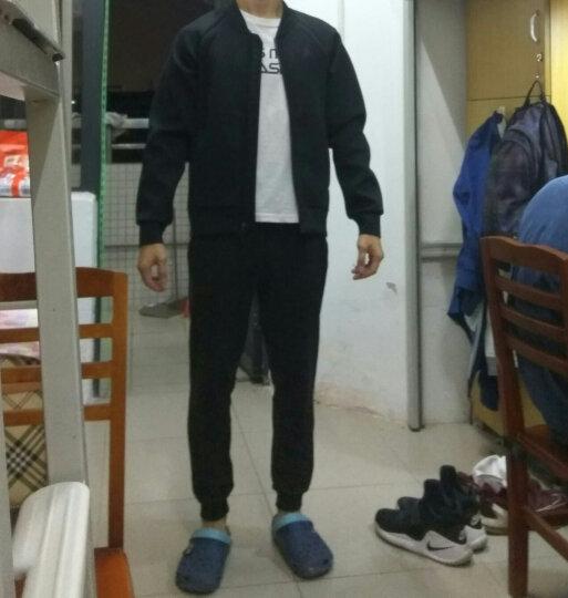 耐克男装nike Air Jordan男子防风保暖运动休闲立领夹克外套棒球服887777 879494-010 M 晒单图