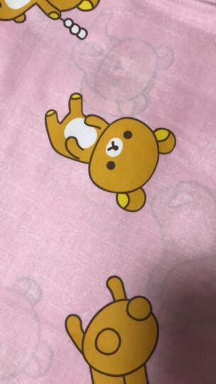 LOVO家纺 床上用品四件套全棉床品卡通床品套件 轻松小熊系列 小淘气 1.5米床(被套200x230cm) 晒单图