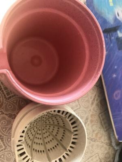 美之扣 不锈钢橙汁榨汁机手动压橙子器简易迷你炸果汁杯小型家用水果柠檬榨汁器 常规款:绿色【适用橙子/柠檬/苹果等】 晒单图