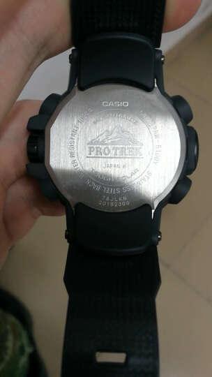 卡西欧(CASIO)手表 PROTREK 男士太阳能登山户外指南针运动手表 电波石英表 PRW-7000-1A 晒单图