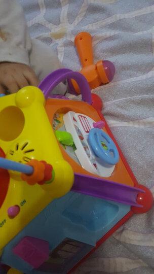 汇乐玩具(HUILE TOYS) 学习桌工具箱玩具婴幼儿过家家玩具女孩男孩玩具 汇乐806快乐小天地 晒单图