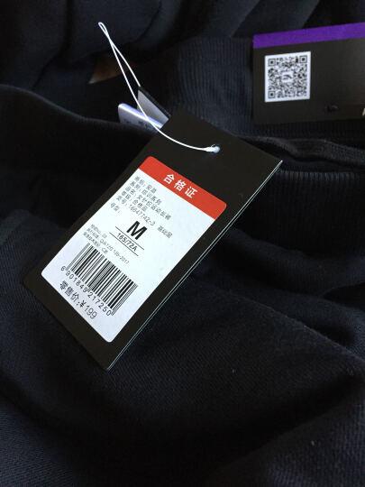 安踏女裤运动裤加绒裤运动长裤休闲收口小脚裤 灰花灰-1 XL/175 晒单图