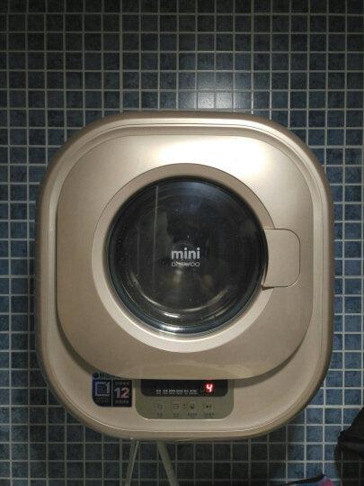 大宇(DAEWOO) 进口小型壁挂式迷你滚筒洗衣机全自动儿童婴儿宝宝ODW-MGD881 晒单图
