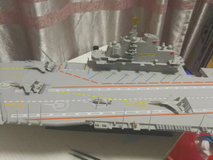 小号手1:350中国航空母舰瓦良格号 中国航母辽宁舰 辽宁舰05617 沃尔基  晒单图
