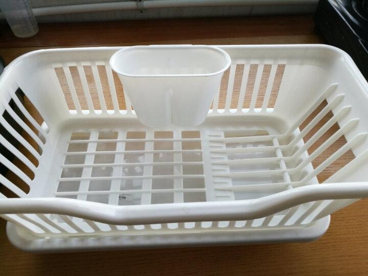 乾越(qianyue) 【血亏冲量/破损包换】厨房通用大号沥水篮 蔬果碗碟滴水架 碗筷收纳沥水架 晒单图