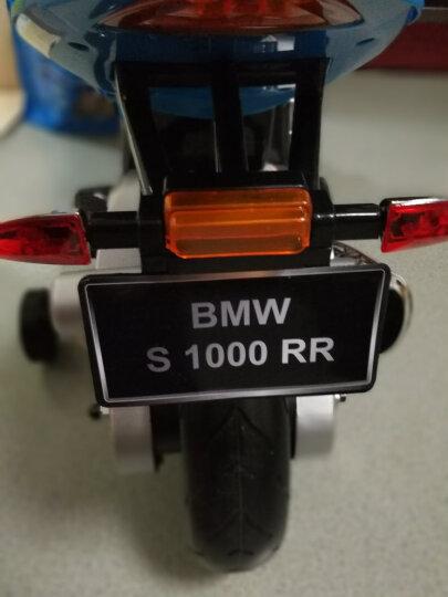 巨龍(JULONG) 授权童车儿童摩撬车电动童车儿童电动车小孩玩具2-9岁 浅蓝色 晒单图