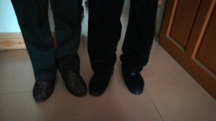 颐福元老北京布鞋冬季妈妈鞋棉鞋女中老年棉靴高帮老人鞋保暖防滑 32红色 39 晒单图