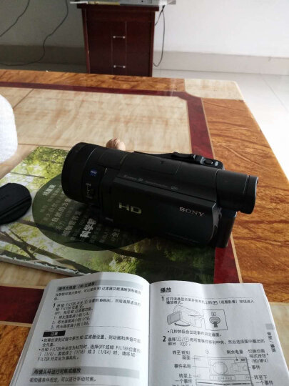 索尼(SONY)高清数码摄像机 FDR-AX60 超清4K新品 套餐三 晒单图