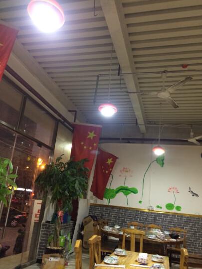 环鑫 LED大功率灯泡工厂灯仓库节能灯 蘑菇泡E27白光50W 晒单图