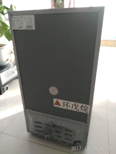 康佳(KONKA) BCD-100C 100升两门小冰箱 冷冻冷藏 家用节能 双门电冰箱 浅灰色 晒单图