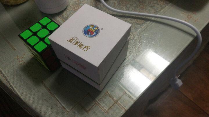 圣手异形魔方套装8件组合礼盒装益智三阶镜面金字塔斜转SQ1五魔方 黑色 晒单图