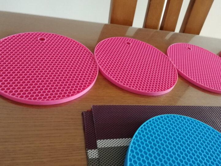 尚烤佳  隔热垫 硅胶防烫防滑垫 餐垫 杯垫 盘垫 碗垫 锅垫套装7片装 晒单图