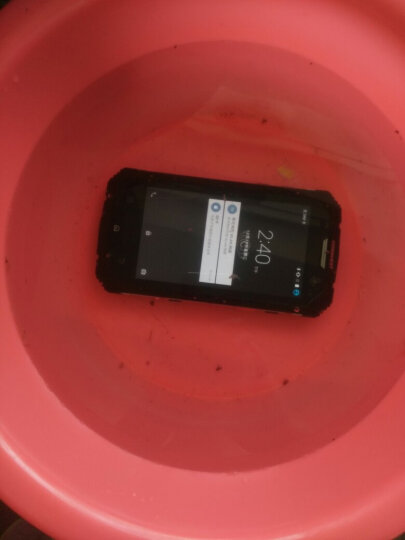 CONQUEST 征服S8全网通4G 指纹识别4G+64G双卡双待 超长待机三防智能手机 特色手机 全新正品(黑色4G+64G) 晒单图
