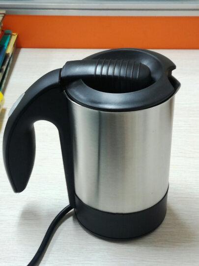 WM 不锈钢电水壶 迷你旅行电水壶 宿舍用小功率电水壶WST-0802电水壶 黑色 晒单图