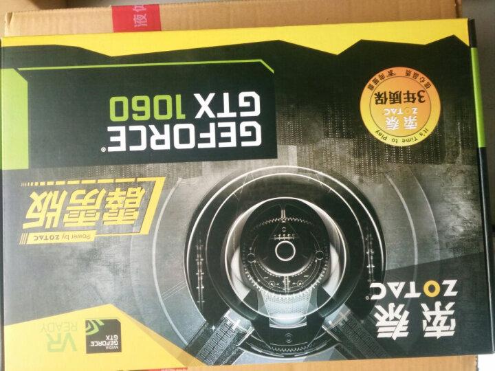 索泰(ZOTAC)GeForce GTX1060-3GD5霹雳版OC 绝地求生/吃鸡显卡 1569-1784/8008MHz 3G/192bit 晒单图