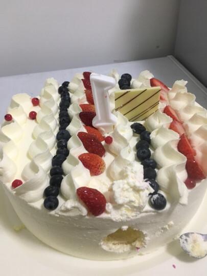 味多美 生日蛋糕 天然奶油 水果蛋糕 同城配送北京 经典100% 直径80cm 晒单图