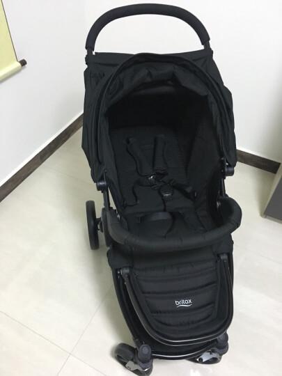 宝得适(BRITAX) 婴儿推车轻便 可折叠 可坐可躺 欢行B-nest 闪电黑 晒单图