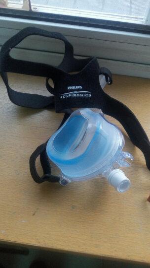 瑞迈特 飞利浦呼吸机口鼻面罩ComfortGel Blue Full静音接氧 飞利浦蓝硅胶口鼻罩L号 晒单图