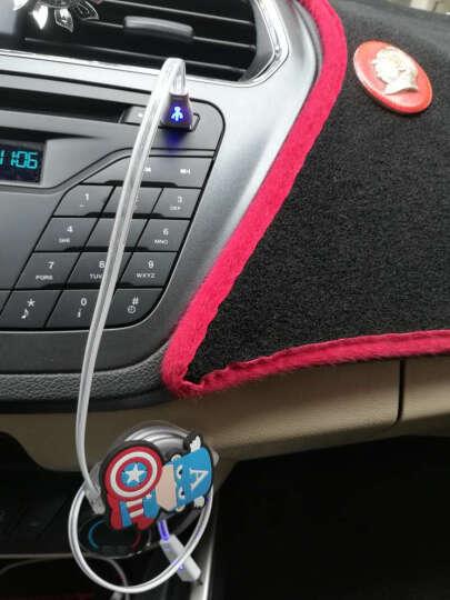 迪加伦 车载手机充电器 USB数据线 伸缩 快充 卡通 车内氛围灯 汽车用品装饰 蝙蝠侠 安卓专用接口 三星小米 华为vivo OPPO 晒单图