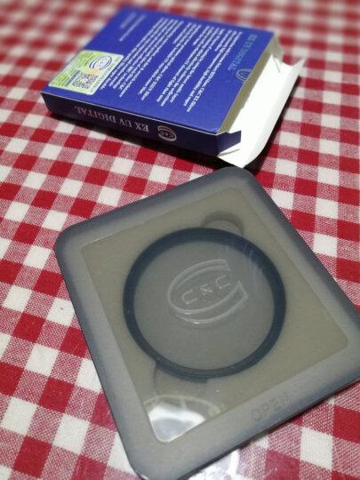 C&Cuv镜滤镜 EX UV 58mm 超薄UV滤镜 单反相机保护镜片 晒单图