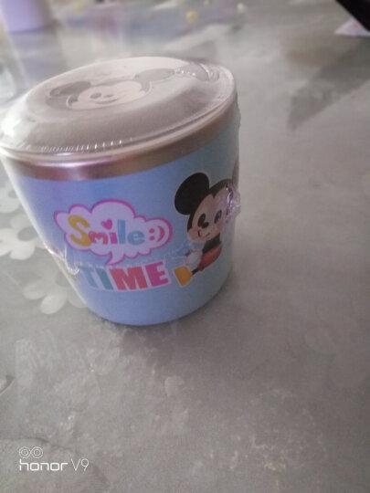 韩国进口 迪士尼(Disney)萌萌米奇宝宝水杯学饮杯 儿童不锈钢水杯隔热饮水牛奶儿童杯子带盖(250ml)07 晒单图