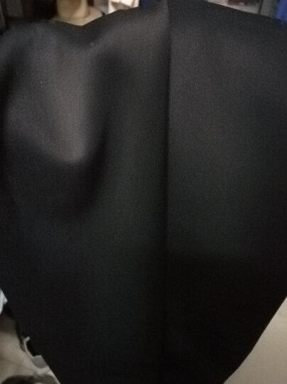 OVB-VIVI.CLIFF 束腿裤收腿宽松小脚束脚裤 男女款暗黑运动卫裤 黑色 S 晒单图