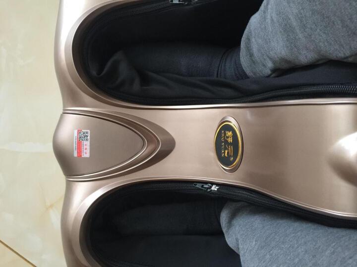 舒元足疗机豪华多功能美腿机脚底足底腿部足部腿部小腿按摩器 美足宝按摩 SY8812-JIN金色 晒单图